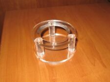 Display Case :  Cricket Ball - single cricket ball holder/display case -clear