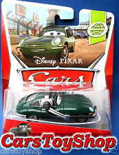 Disney Cars 2 David Hobbscapp with headset Hobbscap Hobbs 1963 Jaguar E-Type Toy