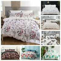 3 Pieces Printed Duvet Cover for Comforter Quilt Cover Bedding Set King Queen US