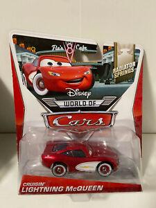 Disney World of Cars Cruisin Lightning McQueen 2014 NEW