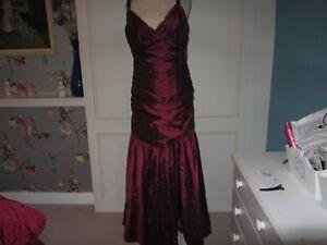 Emma Somerset red taffeta wedding/formal dress 12