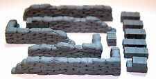 1/35 Sandbag Walls (Straight) - Value Gear Details DP003