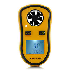 Digitla Anemometer - Portable Wind Speed Meter, Thermometer, Quick Delivery