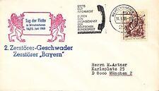 (50137) Germany Cover Wilhelmshaven Tag der Flotte Cover 1969