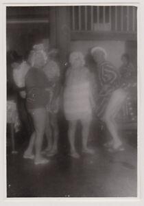 Original vintage 1950s SNAPSHOT risque costume party dancing