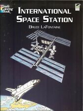 International Space Station Coloring Book - 28 illustrations with captions, PB