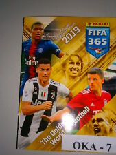 New Panini FIFA 365 18 2019 Empty Album Golden World Of Football Serbian Version