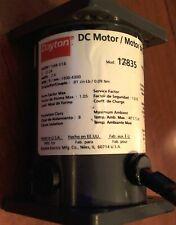 DAYTON 1Z835 DC MOTOR INDUSTRIAL POWER 12-24VDC 1800-4300 RPM