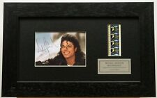 More details for michael jackson moonwalker signed repro original filmcell memorabilia coa