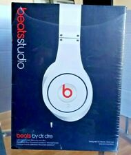 BEATS by dr.dre Studio High Definition Powered Isolation Headphones WHITE