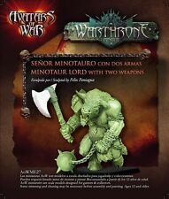 Avatars of War: Minotaur Lord with two weapons - AOW27 -Warhammer Character