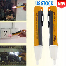 2 X AC Non-Contact Electric Voltage Detector Tester Test Pen 90~1000V LCD SE