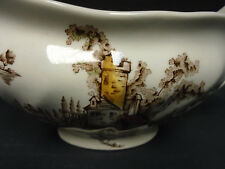 The old mill Gravy Boat by Johnson Brothers