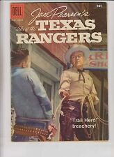 Jace Pearson's Tales of the Texas Rangers #20 FN- august 1958 - silver age dell