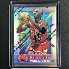 1994-95 Topps Finest MICHAEL JORDAN Silver Refractor #331 - Coating On (E)