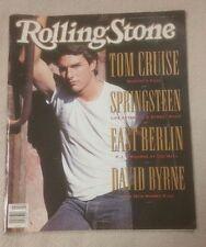 ROLLING STONE Magazine January 1990 TOM CRUISE Bruce Springsteen DAVID BYRNE 569