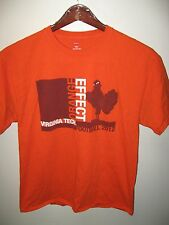 Virginia Tech Polytechnic Institute and State University Football 2012 T Shirt L