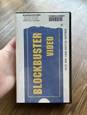Rain Man Blockbuster VHS Clamshell Former Rental 90's