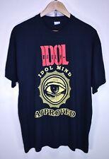 BILLY IDOL MIND APPROVED 2005 TOUR CONCERT ALBUM BLACK Vintage T-Shirt size L