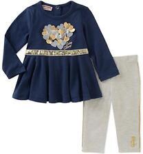 Juicy Couture Infant Girls Tunic 2pc Legging Set Size 3/6M 6/9M 12M 18M 24M
