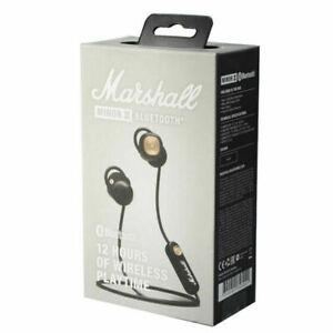 Marshall Minor II Auriculares Bluetooth Negros. Nuevos en Caja.Envio 48/72H