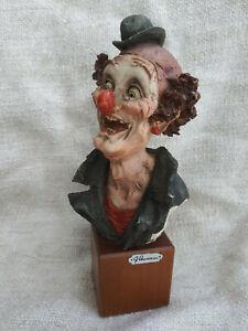 "Giuseppe Armani Figurine ""Clown"""