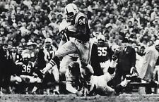 1950's NFL FOOTBALL Baltimore Colts MOORE New York Giants STITS Photo Art 11x14