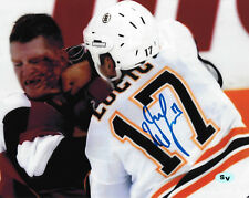 Milan Lucic Autographed Signed 8x10 Photo Bruins Kings Oilers (JSA PSA Pass)