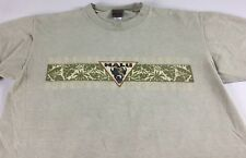 Nalu Buffalo T-Shirt VTG Mens Medium Hawaiian USA Made Cotton Double Sided Tee