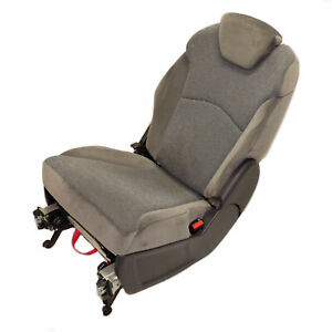 Peugeot 807 Seat 2. Series Left Or Right Fabric Seat Grey