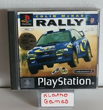 PS1 / Sony Playstation 1 Spiel - Colin McRae Rally mit OVP+Anleitung  C2750