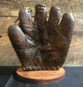 Vintage 1920s/30s Reach Babe Ruth Home Run Special Baseball Glove Antique