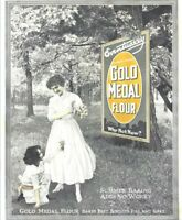 Reprint Of 1916 Washburn-Crosley Gold Metal Flour Eventually Why Not Now Ad