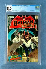 DETECTIVE COMICS #407 CGC 8.0 VERY FINE WHITE PAGES BATMAN & BATGIRL MAN-BAT