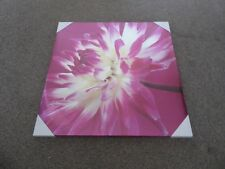 Canvas - Pink Flower - NEW