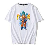 Short Sleeve T-shirt Anime Dragon Ball Z TShirts Black/White Tees Birthday Gifts