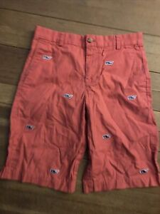 Vineyard Vines Nantucket Red Shorts Boy 16