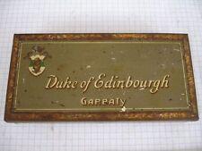 Vieja blechdosefür 50 cigaretten Gold Duke of Edinbourgh Garbaty