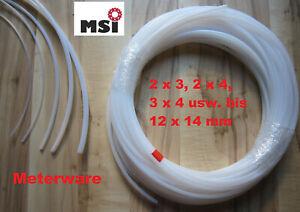 PTFE Schlauch Teflonschlauch Teflon Schlauch Tube 3D Drucker 2 3 4 5 6 8 10 12