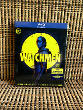 Watchmen: HBO Limited Series (3-Disc Blu-ray, 2020)+Slipcover.DC.Regina King