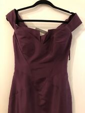 New Zac Posen Purple Gown Size 4