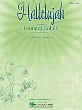 Hal Leonard - Hallelujah by Leonard Cohen Piano Solo Sheet Music, 142890
