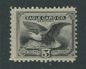 Bigjake: RU7d, 5 cent Eagle Card Co., Playing Cards,  Match and Medicine
