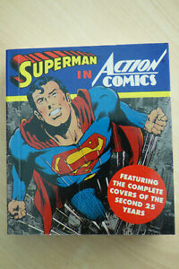 Superman in Action Comics Covers of Second 25 Years 1st Ed. 1994 Tiny Folio