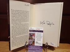 "(SSG) KIRK DOUGLAS Signed Book ""My Stroke Of Luck"" with a JSA (James Spence) COA"