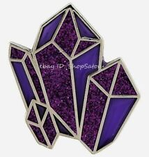 Amethyst Crystal Points Clusters Manifestation Witch Lapel Enamel Pin PURPLE
