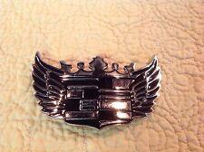 Big Bold Cadillac Emblem Wings Belt Buckle Cars Truck Automotive Industry