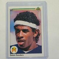 1990 Upper Deck Deion Sanders Rookie Card #13 Pack Fresh!!!  HOF 2 Sport Star!!!