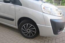 "4 Alu-Design Radkappen 16 Zoll für Toyota ""TURBO silber/black"""