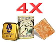 4X Original HEMANI Amber Musk Jamid Duftstein Alkoholfrei*Arabische Parfüm Amber